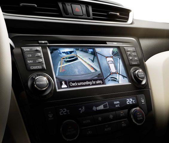 2014 Nissan X-Trail - reversing camer screen
