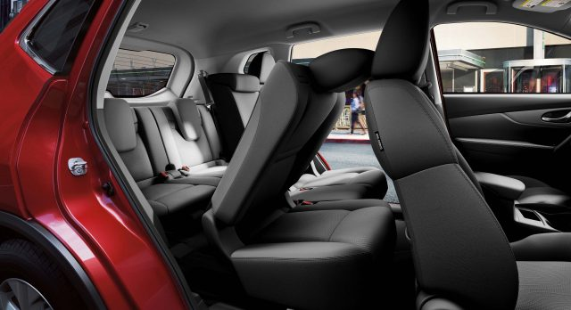 2014 Nissan X-Trail - rear (third row) seats