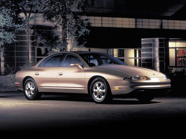 Oldsmobile Aurora (first generation) - front, champagne