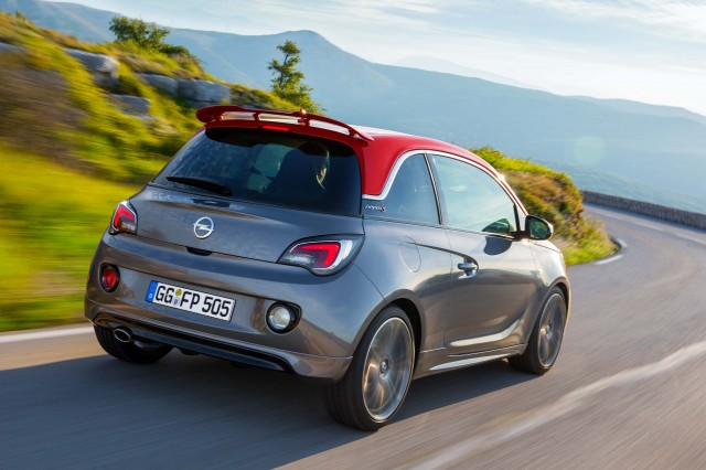 Opel Adam S - action shot rear