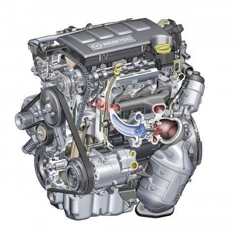 Opel Adam S - 110kW 1.4-litre turbocharged engine