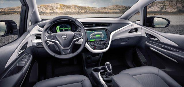 Opel Ampera-e - interior, dashboard