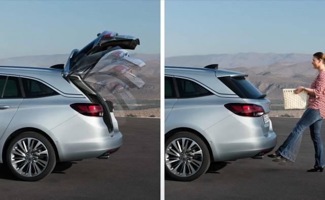 Opel Astra Sports Tourer K - hands free trunk