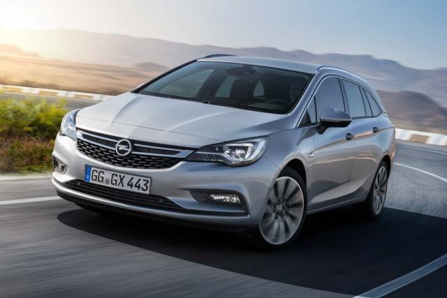 Opel Astra Sports Tourer K - nose