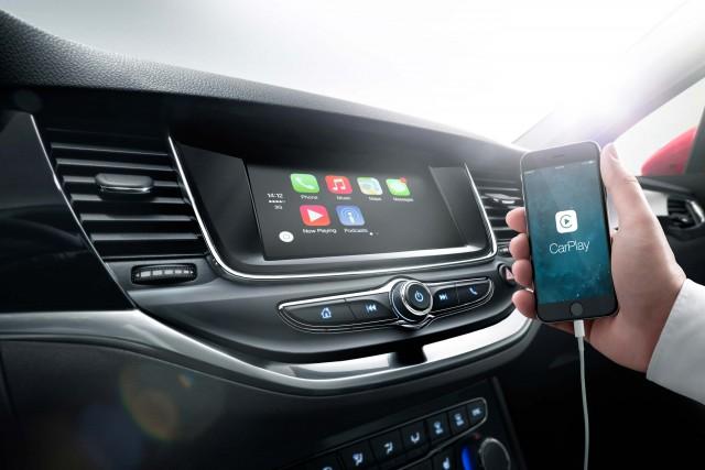 Opel Astra Sports Tourer K - Apple Car Play