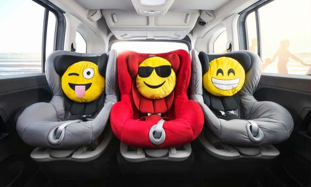 2018 Opel Combo Life - child seats