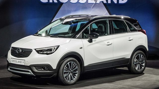 2017 opel crossland x new smaller than mokka suv developed with peugeot between the axles. Black Bedroom Furniture Sets. Home Design Ideas