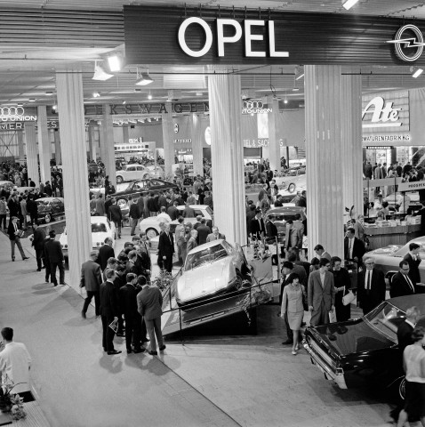 Opel Experimental GT at the 1965 Frankfurt Motor Show