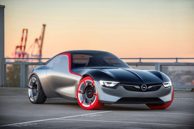 2016 Opel GT concept - front