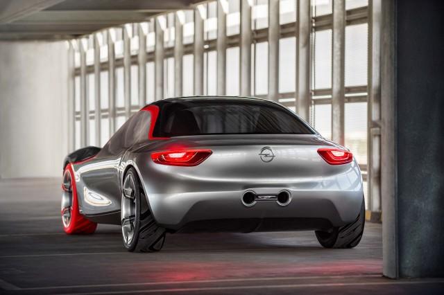 2016 Opel GT concept - rear