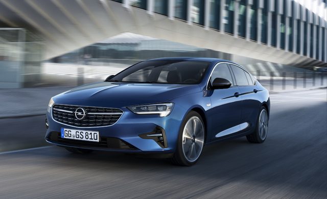2020 Opel Vauxhall Insignia Facelift Has New Lights And