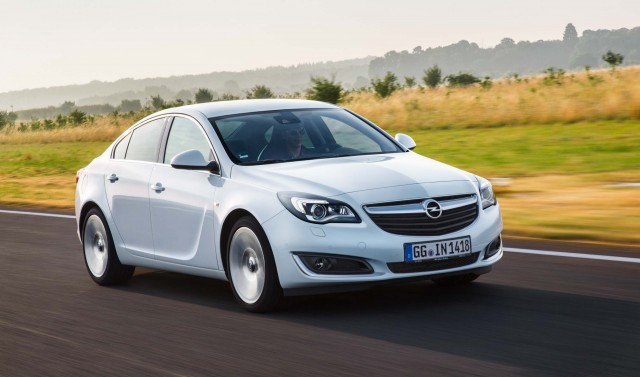 Opel Insignia (A) facelift - sedan, front