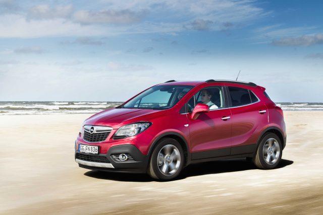 2012 Opel Mokka - front