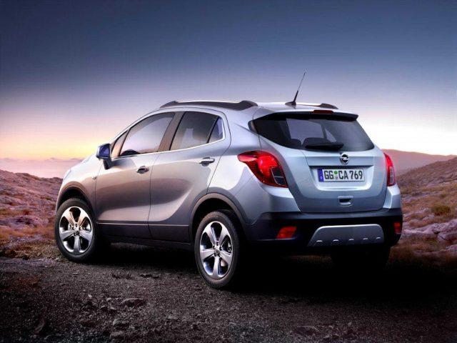2012 Opel Mokka - rear