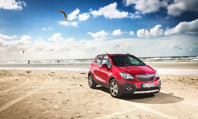 2012 Opel Mokka - beach