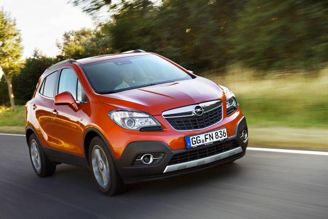 2012 Opel Mokka - driving