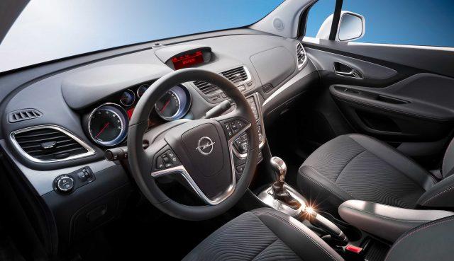 2012 Opel Mokka - dashboard