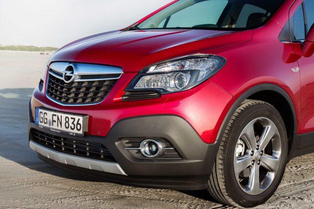 2012 Opel Mokka - red