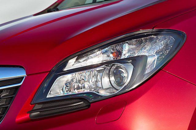 2012 Opel Mokka - headlights