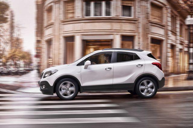 2012 Opel Mokka - white
