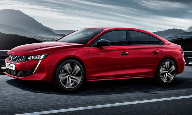 2018 Peugeot 508 - front, red