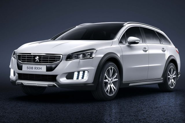 Peugeot 508 Rxh 2015 Facelift First Generation Photos Between