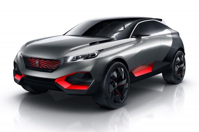 Peugeot Quartz concept - render