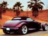 1997 Plymouth Prowler - rear, purple, roof up