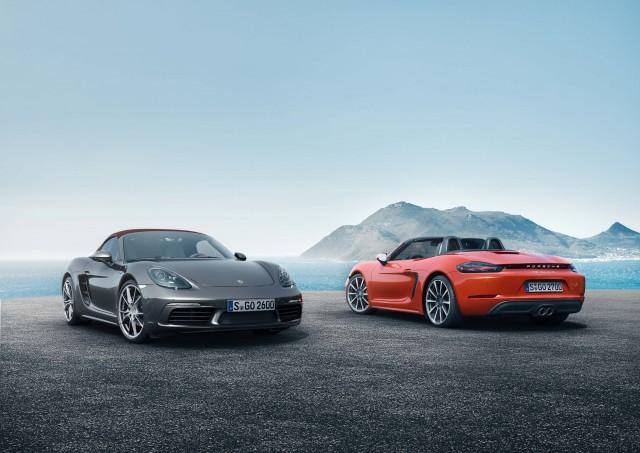 Porsche 718 Boxster and 718 Boxster S