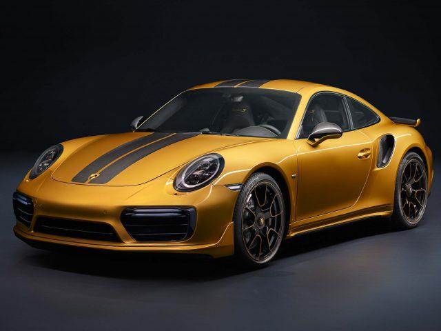 2017 Porsche 911 Exclusive Series - front, bronze
