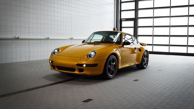 2018 Porsche 911 Project Gold