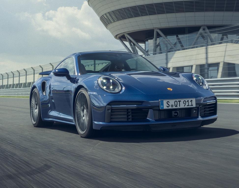 Porsche 911 Turbo (2021, Type 992) photos
