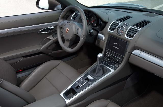 981 Porsche Boxster - interior