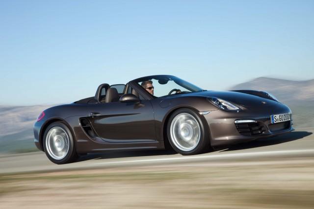 981 Porsche Boxster - driving