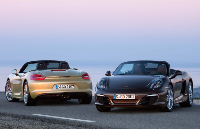 981 Porsche Boxster - brown and champagne