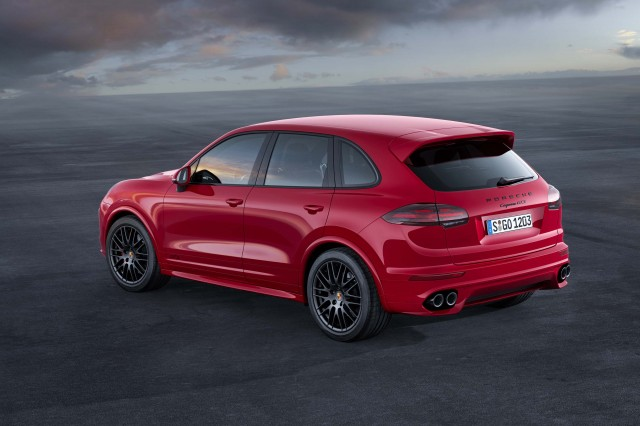 Second generation Porsche Cayenne GTS - rear, static