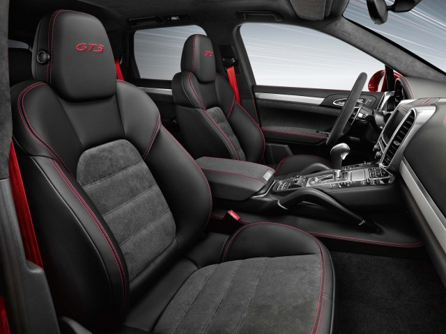 Second generation Porsche Cayenne GTS - black interior