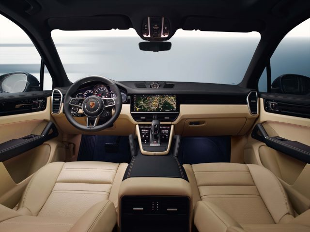 2017 Porsche Cayenne S - interior, dashboard