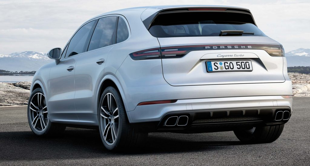 2017 Porsche Cayenne Turbo - rear