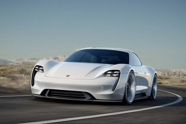 Porsche Mission E concept - front