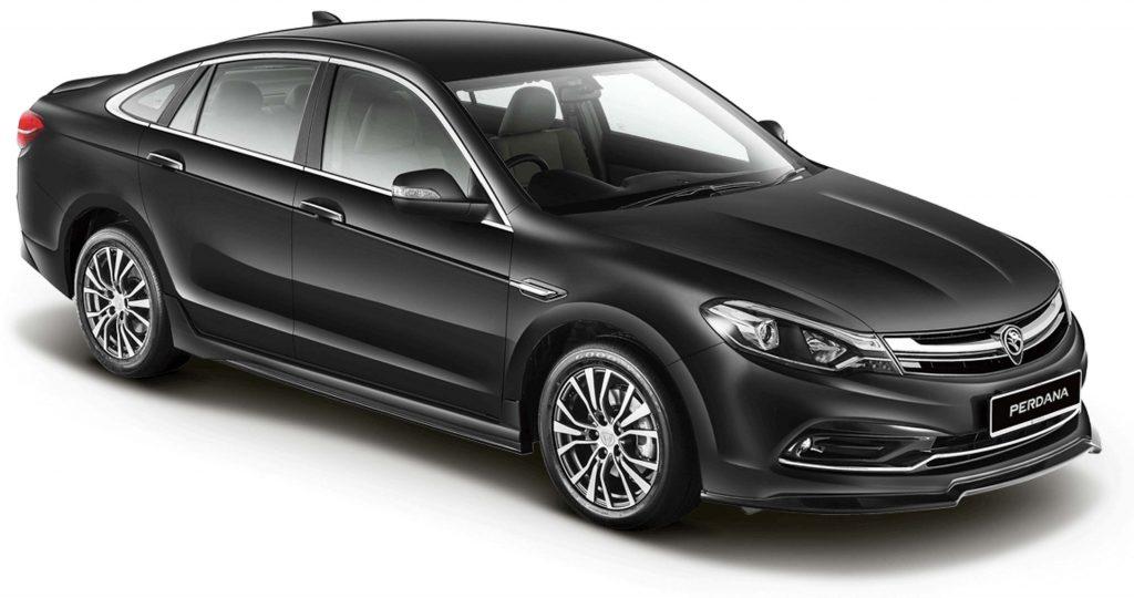 2016 Proton Perdana - front, black