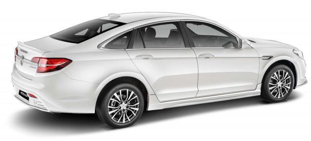 2016 Proton Perdana - rear, white