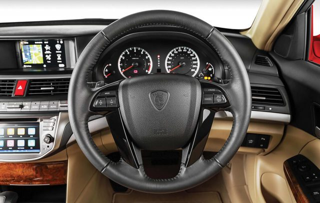 2016 Proton Perdana - interior, dashboard