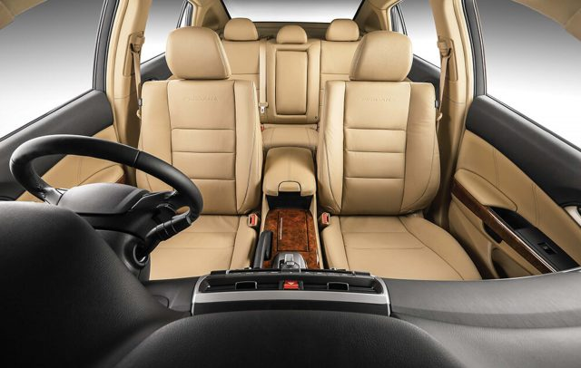 2016 Proton Perdana - front seats