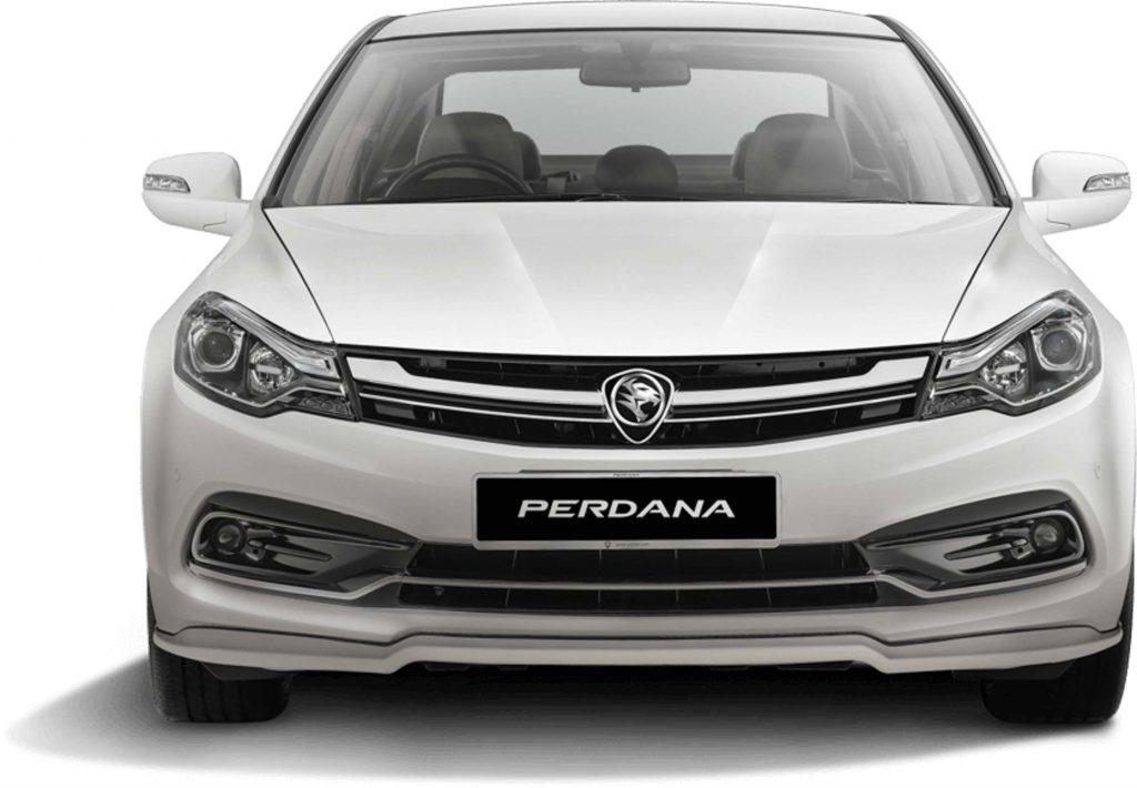 2016 Proton Perdana - front, white