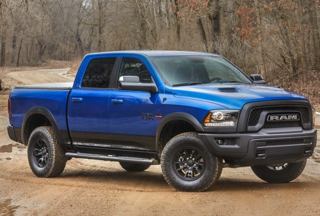 2017 Ram 1500 Rebel Blue Streak - front