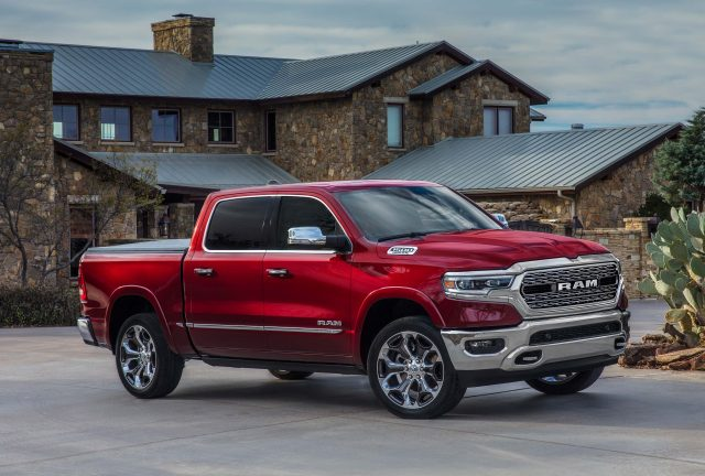 2019 Ram 1500 Limited - front, red