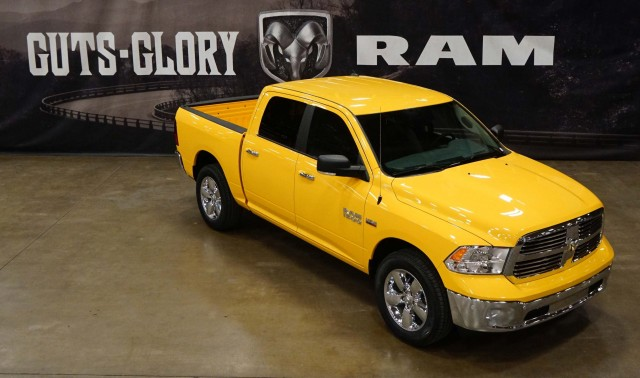 Ram 1500 Yellow Rose of Texas - front