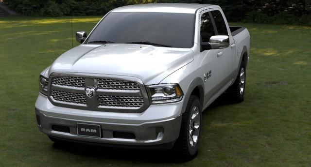 2015 Ram 1500 Texas Ranger Concept truck - front