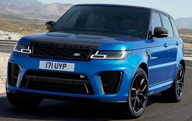 range rover sport svr 2018 facelift l494 second generation photos between the axles. Black Bedroom Furniture Sets. Home Design Ideas